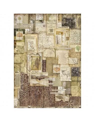 A3 - Papier de riz Square - Stamperia