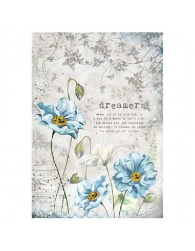 A4 - Papier de riz Dreamer - Stamperia