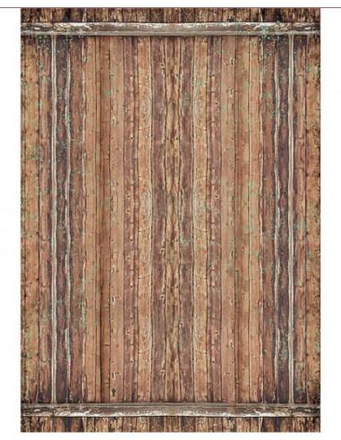 A3 - Papier de riz Bois Amazonie -...