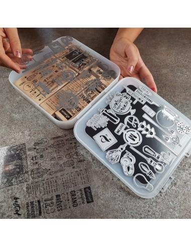 21cm - Clic'Box MAXI HAUTE - boîte de...