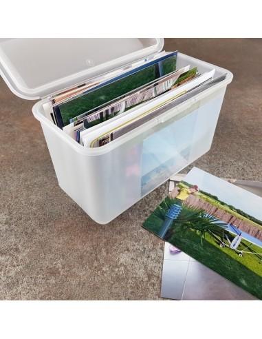 Boîte de rangement Pop'Box Rectangle...