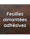 Feuilles magnétiques adhésives