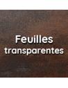 Feuilles transparentes
